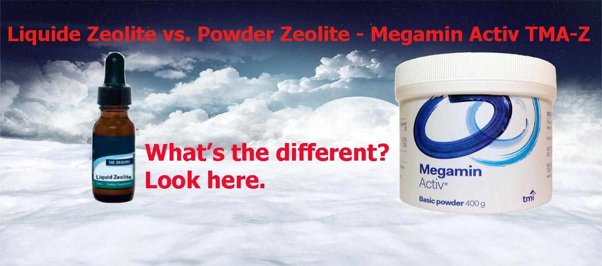 Liquide Zeolite vs. Powder Zeolite