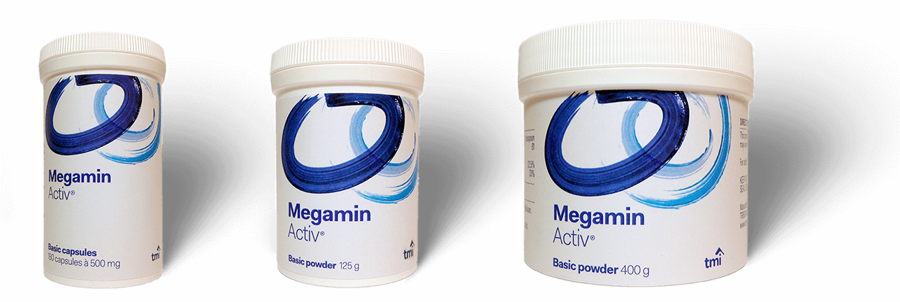 Megamin Activ products